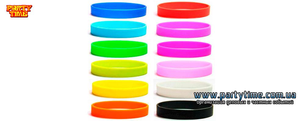 Купить силиконовый браслет киев